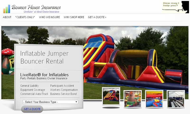Liverate 174 For Inflatables Ideal Choice Insurance