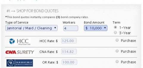 LiveRate® for Cleaning Bond